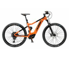 KTM MACINA CHACANA 293 E-MTB Fully 2019 | Orange Matt+Black