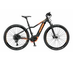KTM MACINA RACE 293 E-MTB Hardtail 2019 | Black Matt+Orange