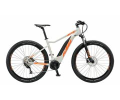 KTM MACINA RIDE 292 E-MTB Hardtail 2019 | Grey Matt+Orange