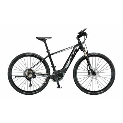 KTM MACINA CROSS XT 11 CX5 Herren E-Bike 2019 | Black Matt+White+Grey