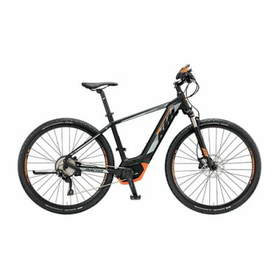 KTM MACINA CROSS 10 CX5 Herren E-Bike 2019 | Black Matt+Grey+Orange