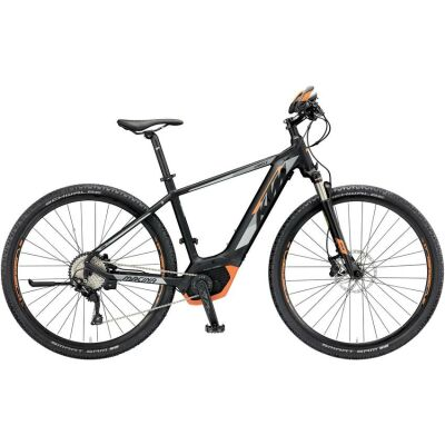 KTM MACINA CROSS 10 CX5 Damen E-Bike 2019 | Black Matt+Grey+Orange