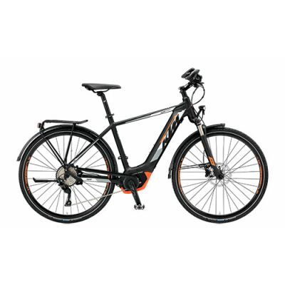 KTM KTM R2R SPORT 10 CX5CO Herren Trekking E-Bike 2019 | inkl. Intuvia Display | Black Matt+White+Orange