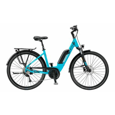 KTM MACINA JOY 9 A+5 Tiefeinsteiger Trekking E-Bike 2019 | Mint Matt+Black