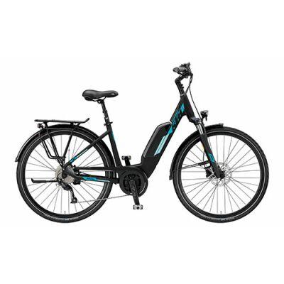 KTM MACINA JOY 9 A+5 Tiefeinsteiger Trekking E-Bike 2019 | Black Matt+Mint