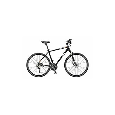 KTM ITERO CROSS Herren Crossrad 2019 | Black Matt+White+Orange
