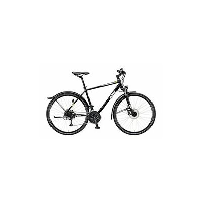 KTM AVENZA CROSS ST Herren Crossrad 2019 | Black Matt+White+Green
