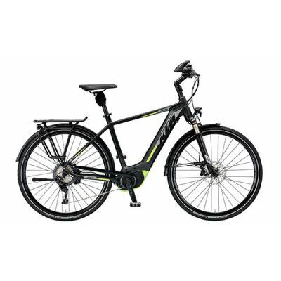 KTM CENTO 10 CX5 Herren Trekking E-Bike 2019 | Black Matt+White+Green
