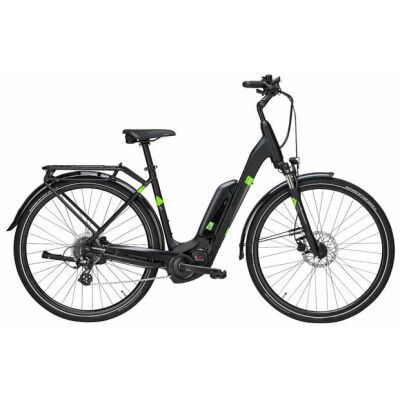 Pegasus Sol. E8 Sport CX 28 8-Gang 400Wh City-E-Bike | Damen | 2019 | schwarz matt