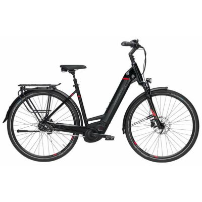 Pegasus Premio EVO 5F 28 5-Gang 500Wh City-E-Bike | Damen | 2019 | schwarz matt