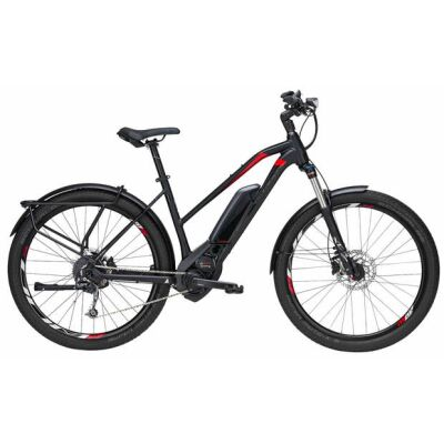 "Bulls Iconic 27.5"" 9-Gang 500Wh Trapez-Rahmen-E-Bike | Damen | 2019 | schwarz matt"