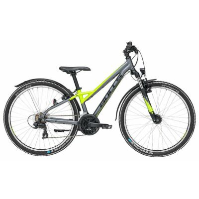 Bulls Sharptail Street 26 26 21-Gang Mountainbike | Jungen | 2019 | grau matt & metallic lime