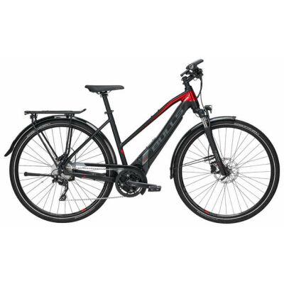 "Bulls Lacuba EVO 25S 28"" 10-Gang 650Wh Trapez-Rahmen-E-Bike   Damen   2019   schwarz matt & metallic rot & grau"