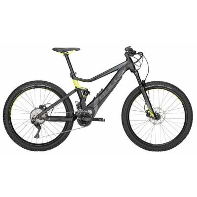 "BULLS E-Stream EVO TR 2 27.5"" 20-Gang 650Wh MTB E-Bike | Herren | 2018 | schwarz matt & grau & neon gelb"