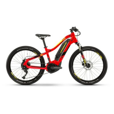 Haibike SDURO HardFour 2.0 400Wh E-Bike 9-G Altus 2019 | rot/schwarz/gelb