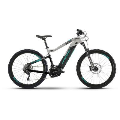 Haibike SDURO HardSeven 7.0 i500Wh E-Bike 20-G Deore 2019   schwarz/grau/türkis