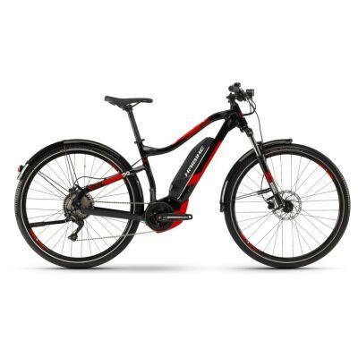 Haibike SDURO HardNine 2.5 Str 400Wh E-Bike 10-G Deore 2019 | schwarz/rot/weiß