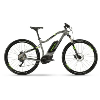 Haibike SDURO HardNine 4.0 500Wh E-Bike 10-G Deore 2019 | grau/schwarz/grün