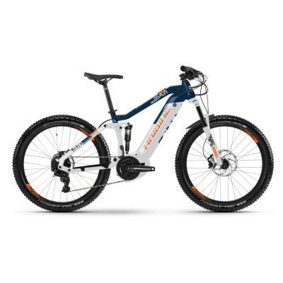 Haibike SDURO FullSeven LT 5.0 i500Wh E-Bike 11-G NX 2019   weiß/blau/orange