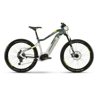 Haibike SDURO HardSeven Life 8.0 i500Wh E-Bike 11-G NX 2019 | silber/oliv/gelb