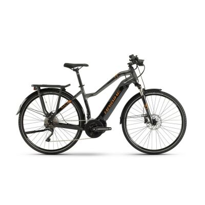Haibike SDURO Trekking 6.0 Damen i500Wh E-Bike 20-G XT 2019 | schwarz/titan/bronze