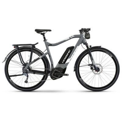 Haibike SDURO Trek 3.5 Herren 500Wh E-Bike 9-G Alivio 2019 | grau/weiß/schwarz matt