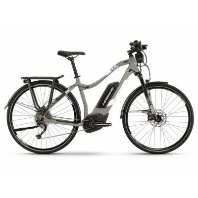 Haibike SDURO Trek 3.5 Damen 500Wh E-Bike 9-G Alivio 2019   grau/weiß/schwarz matt