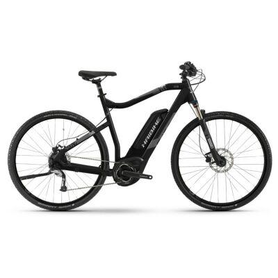 Haibike SDURO Cross 1.0 Herren 400Wh E-Bike 8-G Acera 2019 | BAPP schwarz/titan/grau matt