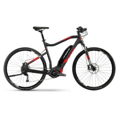 Haibike SDURO Cross 2.0 Damen 500Wh E-Bike 10-G Deore 2019 | schwarz/rot/weiß
