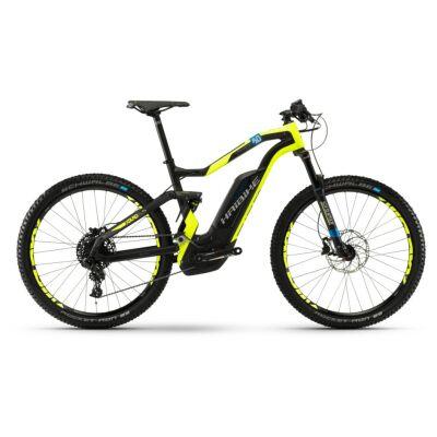 Haibike XDURO FullSeven Carbon 8.0 500Wh E-Bike 11-G NX 2018 | carbon/gelb/blau matt