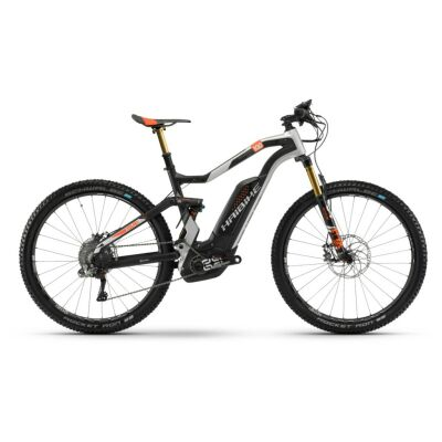 Haibike XDURO FullSeven Car. 10.0 500Wh E-Bike 11-G XTR 2018 | N carbon/silber/orange matt