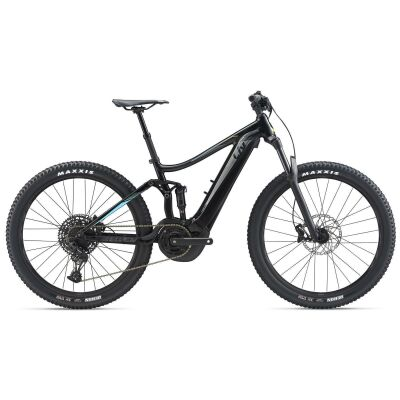 LIV EMBOLDEN E+ 1 E-Bike Fully 2020 | Solidblack / Teal
