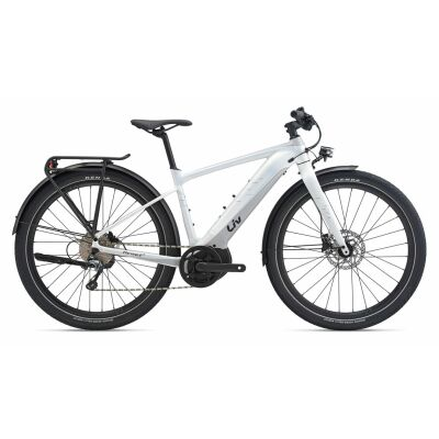 LIV THRIVE E+ EX PRO E-Bike Commuter 2020 | Rainbowwhite / Silvergrey Satin