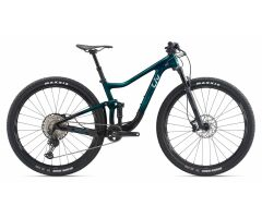 LIV PIQUE ADVANCED PRO 1 MTB Fully 2020 | Green / Carbon...