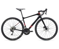 LIV AVAIL ADVANCED 2 Damen-Aero-Rennrad 2020 | Solidblack...