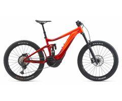 GIANT REIGN E+ 1 E-Bike Fully 2021 | Neonred / Metallicred