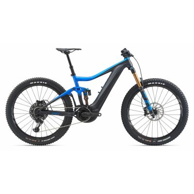 GIANT TRANCE E+ 0 PRO PWR6 E-Bike Fully 2020 | Metallicblue / Coreblack Gloss-Matt