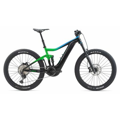 GIANT TRANCE E+ 2 PRO E-Bike Fully 2020 | Metallicgreen / Metallicblue / Solidblack