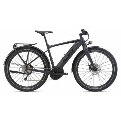 GIANT FASTROAD E+ EX PRO E-Bike Commuter 2020 | Solidblack Gloss-Matt