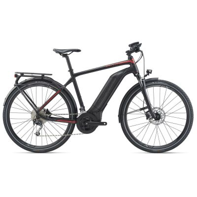 GIANT EXPLORE E+ 2 GTS E-Bike Trekking 2020 | Black / Red Matt