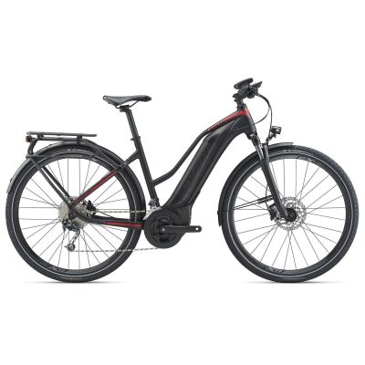 GIANT EXPLORE E+ 2 STA E-Bike Trekking 2020 | Black / Red Matt