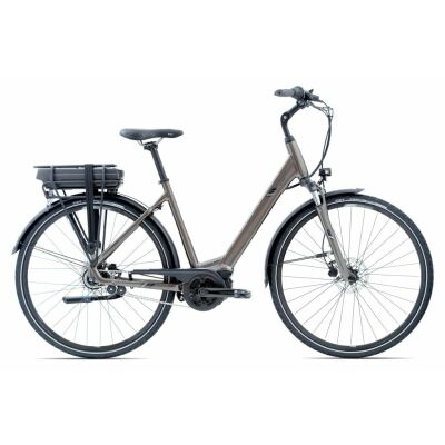 GIANT ENTOUR E+ RT 1 28 E-Bike Trekking 2021 | Metallicblack Matt-Gloss