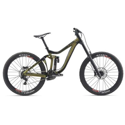 GIANT GLORY MTB Fully 2020 | Chameleon Saturn / Solidblack