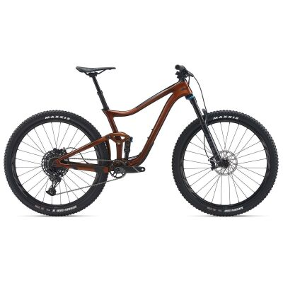 GIANT TRANCE ADVANCED PRO 29 2 MTB Fully 2020 | Copper / Solidblack