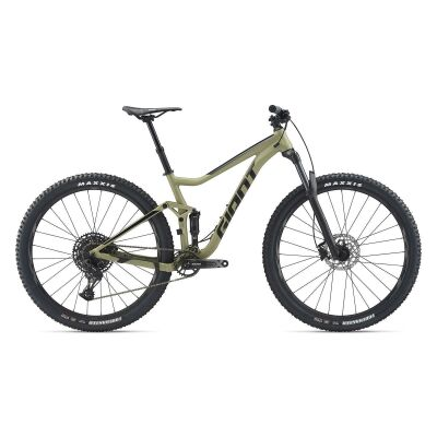 GIANT STANCE 1 MTB Fully 2020 | Olivegreen / Solidblack Matt