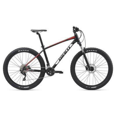GIANT TALON 1 27,5 MTB Hardtail 2020 | Solidblack / Red / White Satin