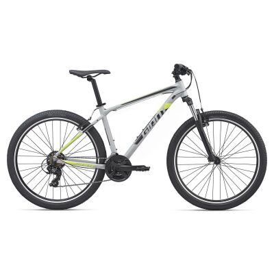 GIANT ATX 3 MTB Hardtail 2020 | Grey / Solidblack / Neonyellow Matt