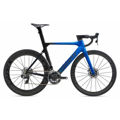 GIANT PROPEL ADVANCED SL DISC Aero-Rennrad 2020 | Electricblue / Metallicblack Gloss-Matt