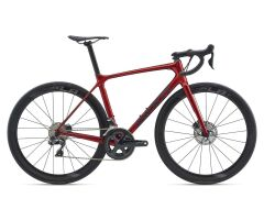 GIANT TCR ADVANCED PRO DISC Rennrad 2020 | Metallicred /...