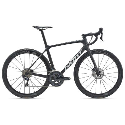 GIANT TCR ADVANCED PRO TEAM DISC Rennrad 2020 | Carbon Smoke / White Matt